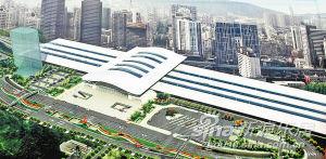 海沧新垵中路将华丽变身 立面改造顺利4月前完工