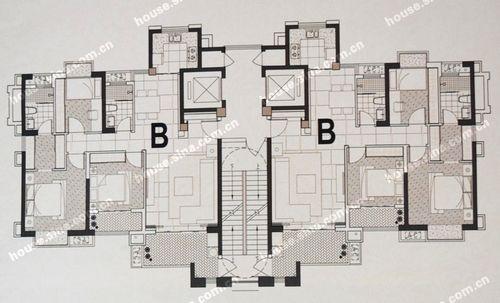 128平米长方形的房子设计图图片