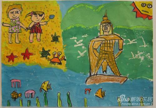 当代天境 我眼中的鹭岛 儿童绘画大赛 绚丽起航图片